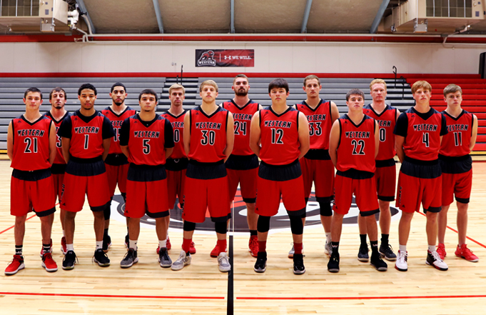Mens bball team-in article